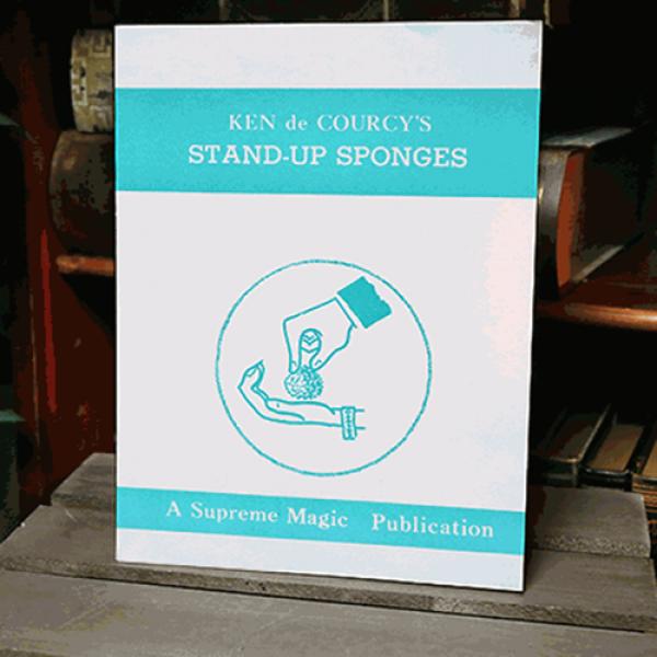 Stand-Up Sponges by Ken de Courcy - Book