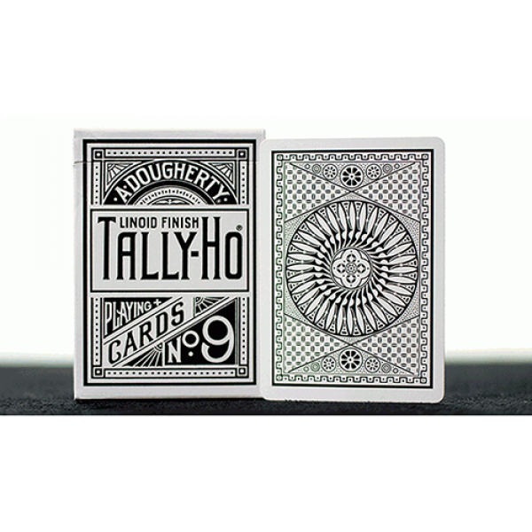 White Tally Ho (Circle Back) Playing Cards