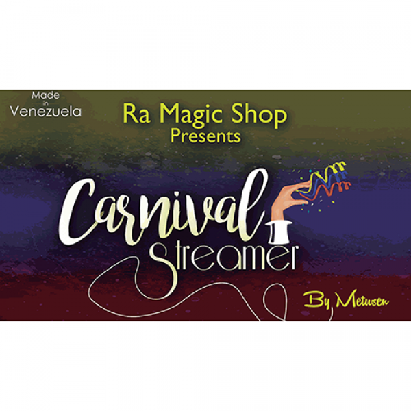 Carnival Streamer Christmas (Red, White and Green)...