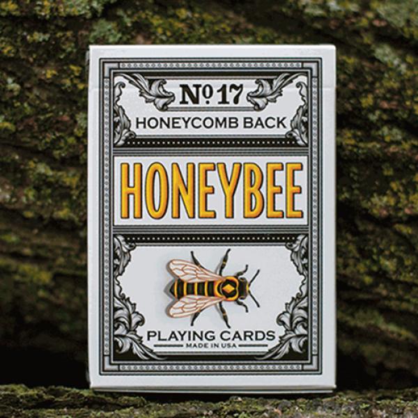 Honeybee V2 Playing Cards (Black)