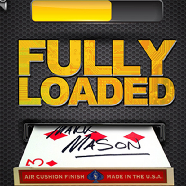 Fully Loaded Blue (DVD and Gimmicks) by Mark Mason