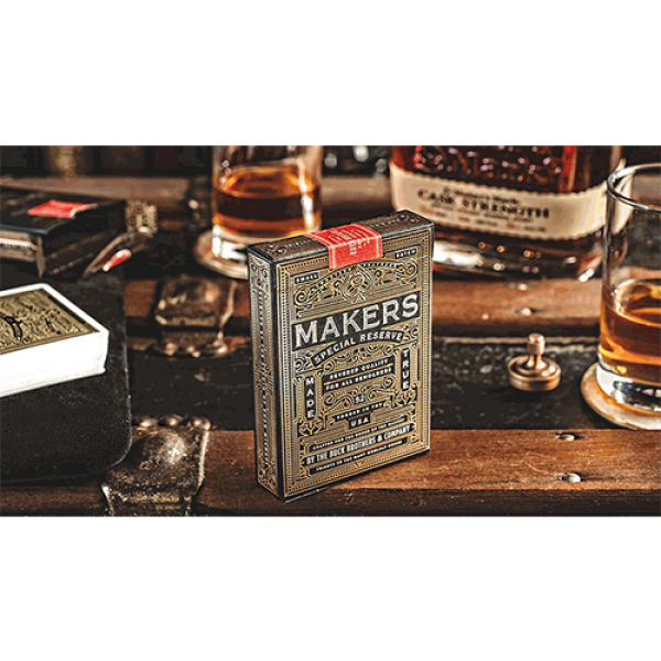 MAKERS: Blacksmith Edition Playing Cards by Dan an...