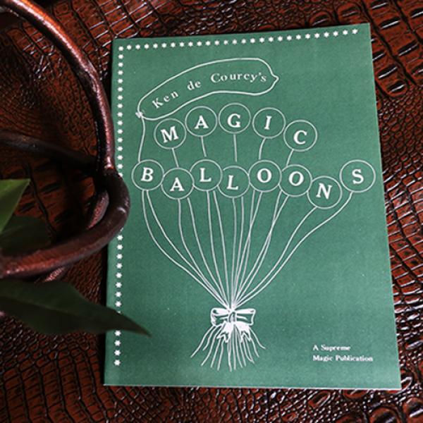 Magic Balloons by Ken de Courcy - Book