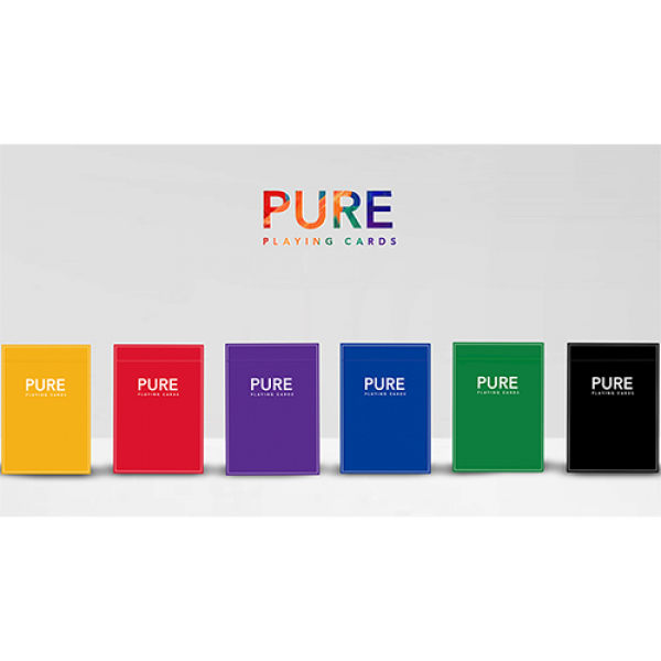 Pure NOC Playing Cards - complete series of 6 Deck...