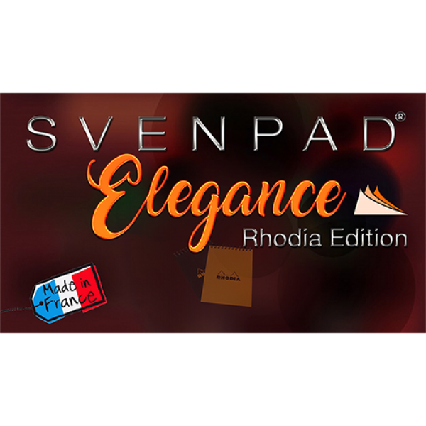 SvenPad® Elegance Rhodia® Edition (Single, Black...