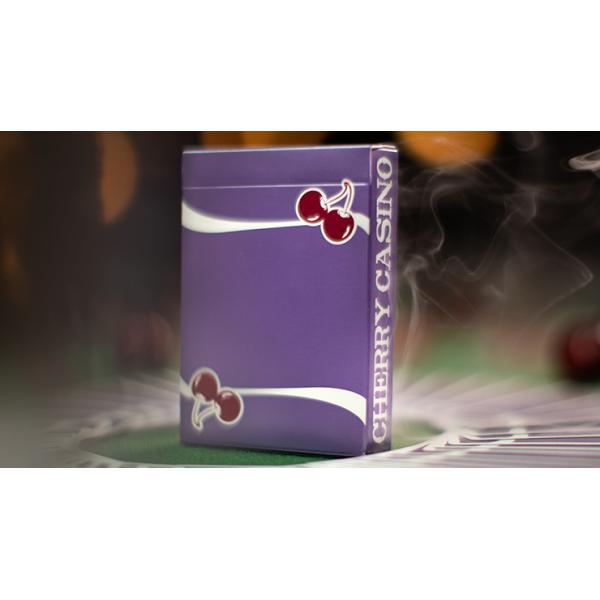 Cherry Casino (Desert Inn Purple) Playing Cards by...