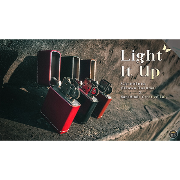 Light It Up Classic Walnut (Gimmicks and Online In...