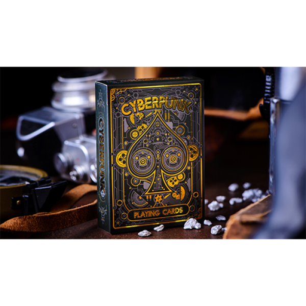 Cyberpunk Gold by Elephant Playing Cards