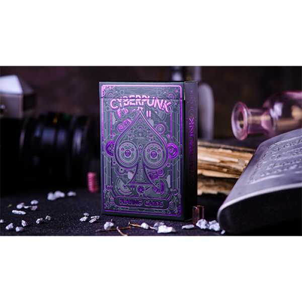 Cyberpunk Purple by Elephant Playing Cards