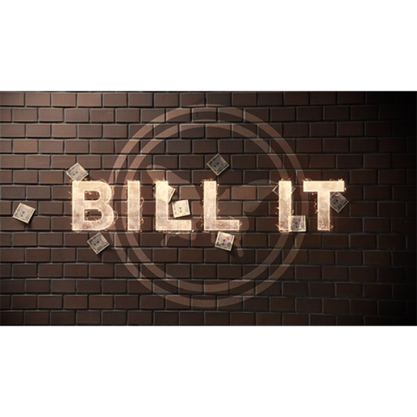 Bill It (DVD and Gimmick) by SansMinds Creative La...
