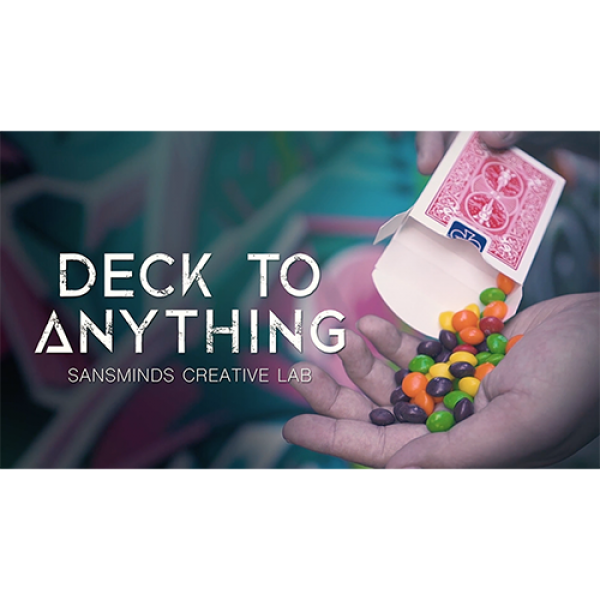 Deck To Anything (DVD and Gimmick) by SansMinds Cr...