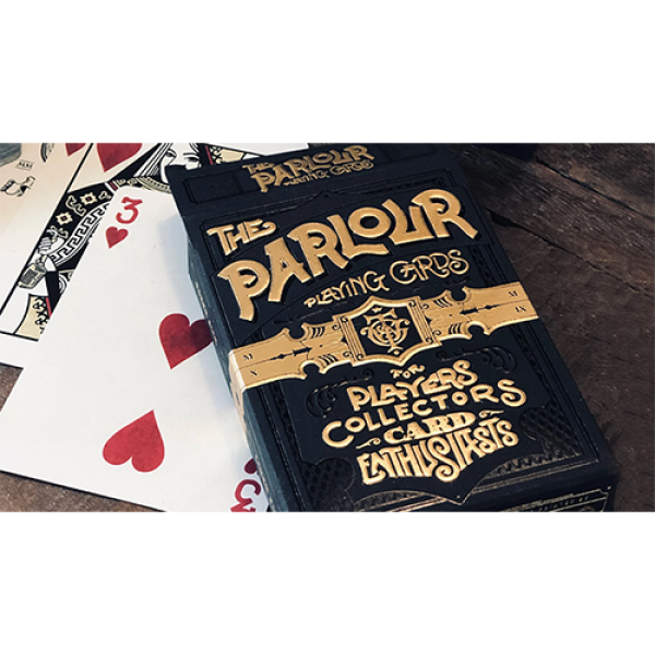 Limited Edition The Parlour Playing Cards (Black V...