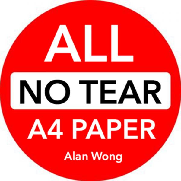 "No Tear Pad (Extra Large, 8.5 X 11.5"") ALL No..."