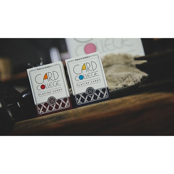 Card College (Red) Playing Cards by Robert Giobbi ...