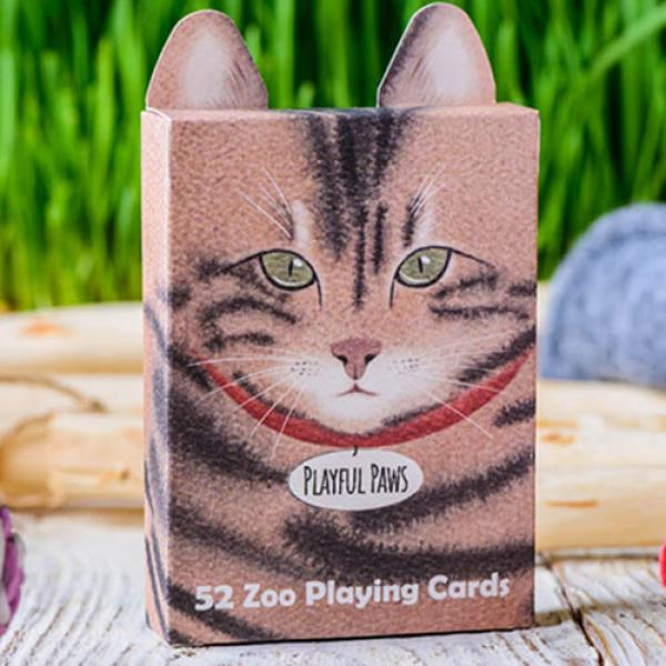 Zoo 52 (Playful Paws) Playing Cards by Elephant Pl...