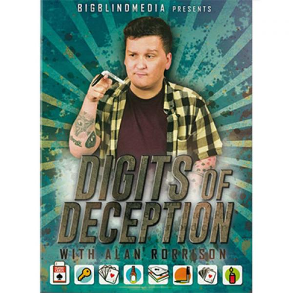 Digits of Deception with Alan Rorrison - DVD
