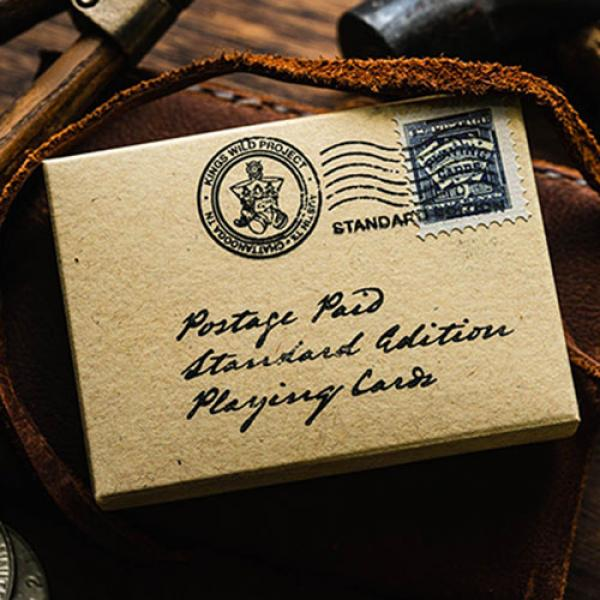 Postage Paid Playing Cards by Kings Wild Project I...