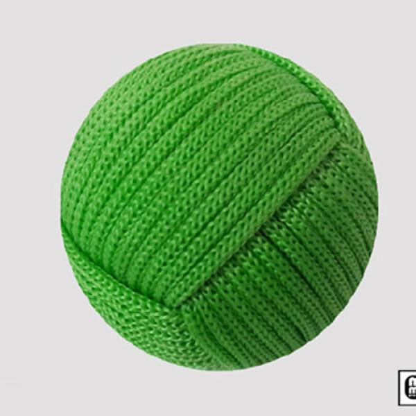 Rope Ball 2.25 inch (Green) by Mr. Magic
