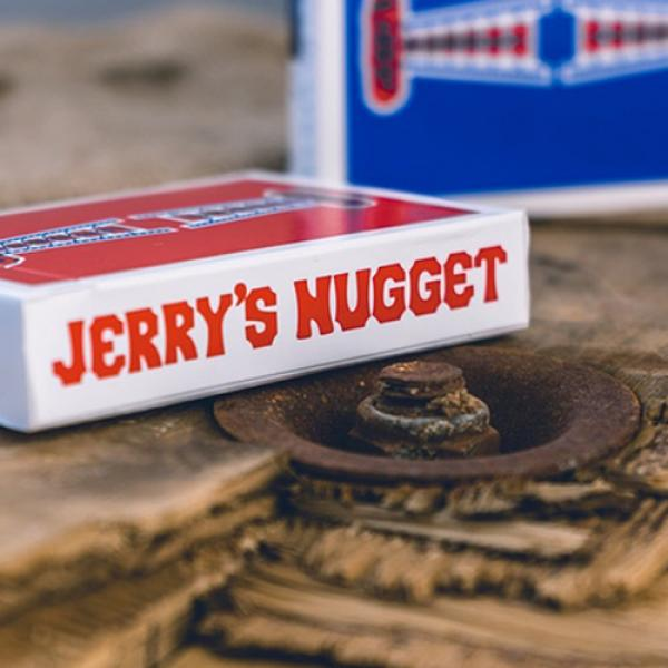 Jerry's Nuggets Shim Card (Red) by The Hanrahan Ga...