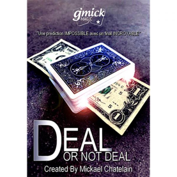 DEAL NOT DEAL Red (Gimmick and Online Instructions...