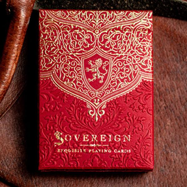 Sovereign STD Red Playing Cards by Jody Eklund