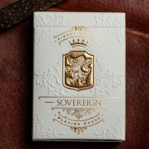 Sovereign (White) Exquisite Playing Cards by Jody ...