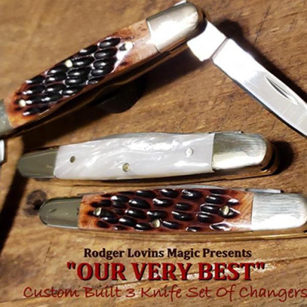 OUR VERY BEST Color Changing Knives by Rodger Lovi...