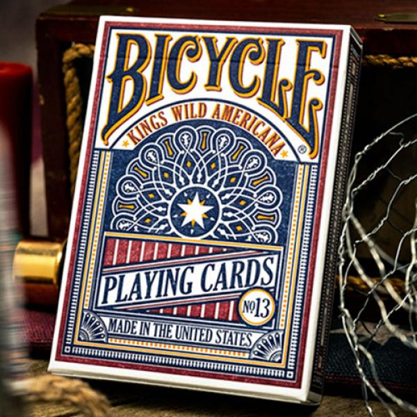 Kings Wild Bicycle Americana Playing  Cards by Jac...