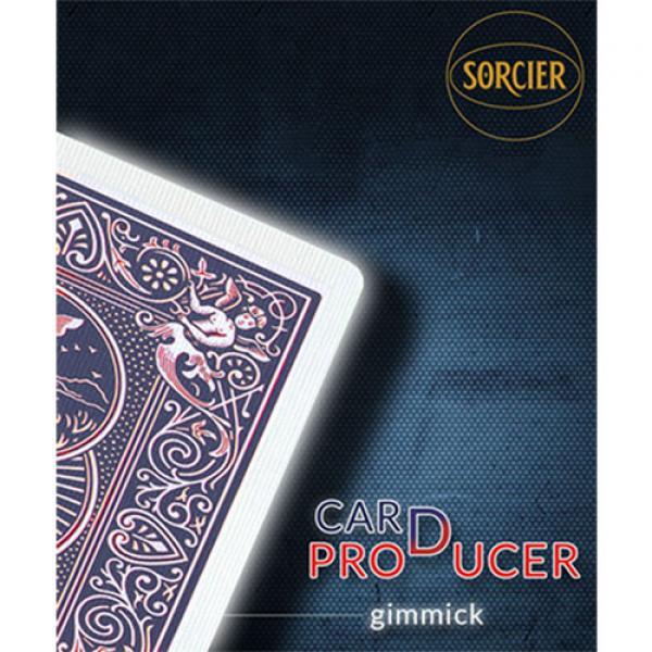 Card Production Gimmick Blue by Sorcier Magic