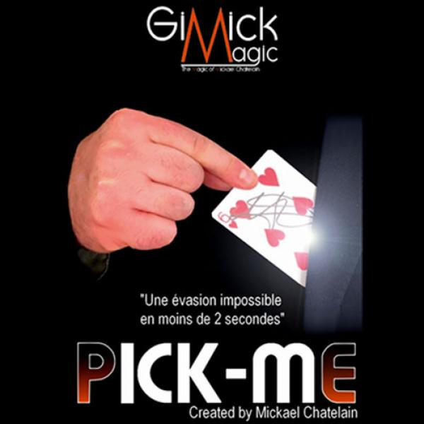 PICK ME (BLUE) by Mickael Chatelain