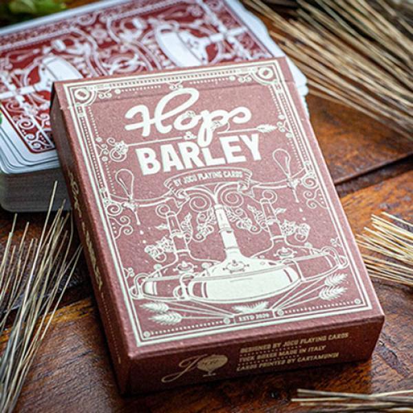 Hops & Barley (Deep Amber Ale) Playing Cards b...