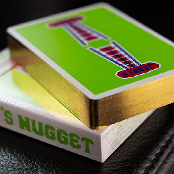Gilded Vintage Feel Jerry's Nuggets (Green) Playin...