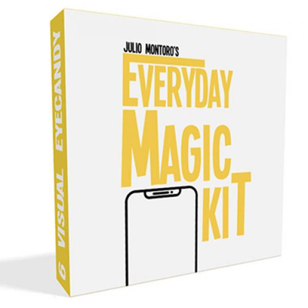 EVERYDAY MAGIC KIT (Gimmicks and online Instructio...