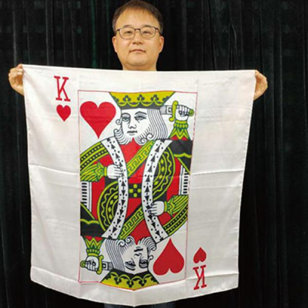 "King Card Silk 36"" by JL Magic"