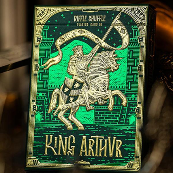 King Arthur (Emerald Saga) Playing Cards by Riffle...