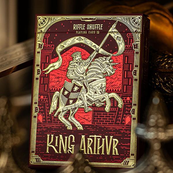 King Arthur (Carmine Cavalier) Playing Cards by Ri...