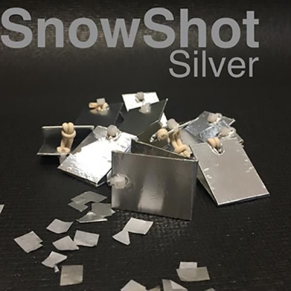 SnowShot SILVER (10 ct.) by Victor Voitko (Gimmick...