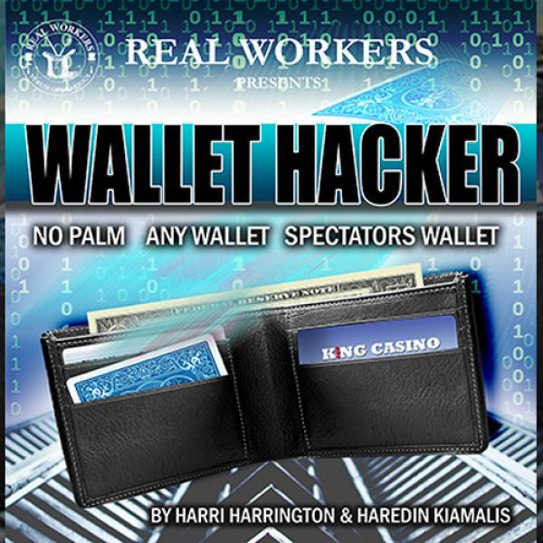 Wallet Hacker BLUE (Gimmicks and Online Instructio...