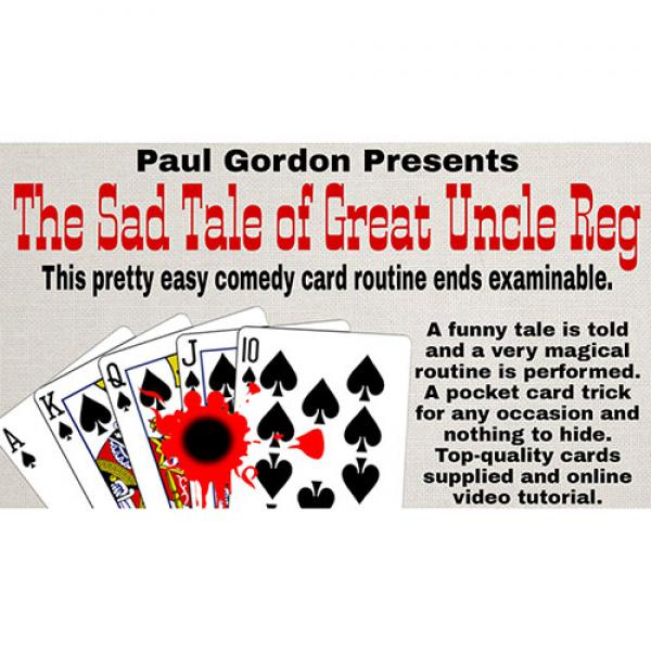 The Sad Tale of Great Uncle Reg  by Paul Gordon (G...