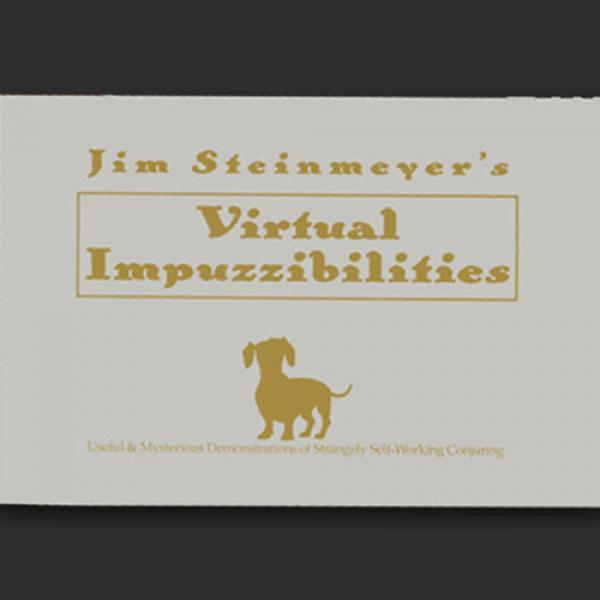 Virtual Impuzzibilities by Jim Steinmeyer - Book