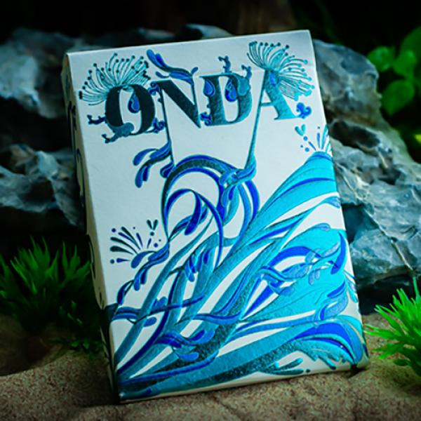 ONDA Wave Playing Cards by JOCU