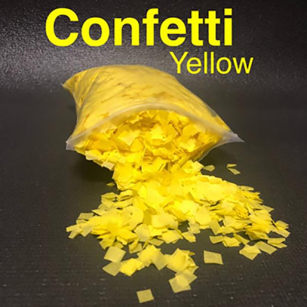 Confetti YELLOW Light by Victor Voitko (Gimmick an...