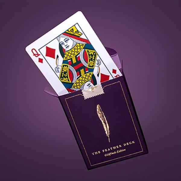 Feather Deck: Goldfinch Edition (Gold) by Joshua J...