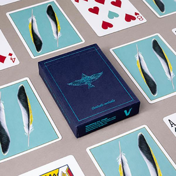 Feather Deck: Goldfinch Edition (Teal) by Joshua J...