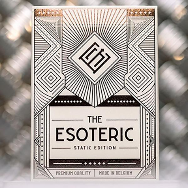 Esoteric: Static Edition Playing Cards by Eric Jon...