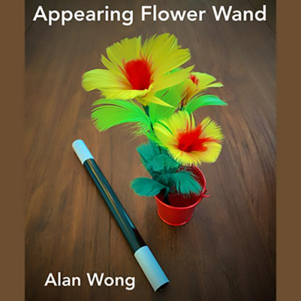 Appearing Flower Wand by Alan Wong