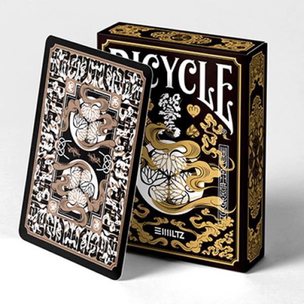 Bicycle Edo Karuta (GOLD) Playing Cards