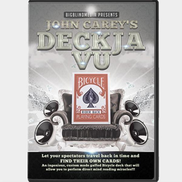 Big Blind Media Presents Deck Ja Vu Blue (Gimmicks...