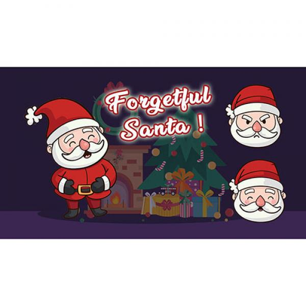 FORGETFUL SANTA (PROFESSIONAL MODEL) by Magie Clim...