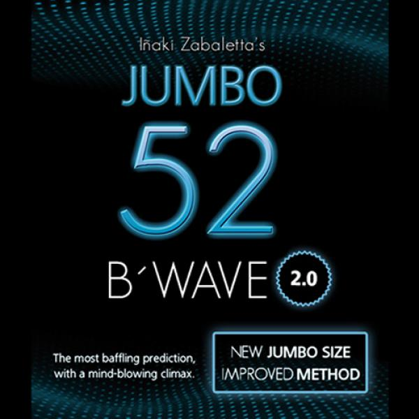 52B Wave Jumbo 2.0 (Gimmicks and Online Instructions) by Vernet Magic